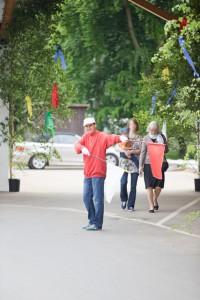 Parkplatz-Anweiser vom Beller Hof
